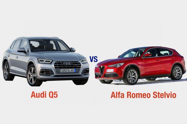 Alfa Romeo Stelvio Vs Audi Q5: interni, dotazioni, motori e prezzo a confronto