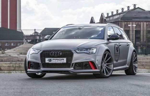 Audi RS6 Avant by Prior Design: widebody e tanta potenza [FOTO]