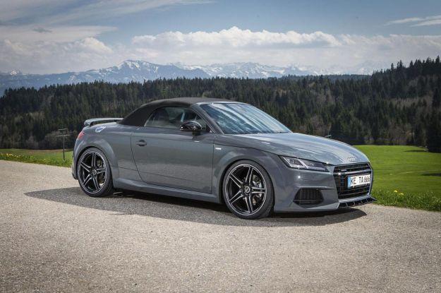 Audi TT Roadster tuning by ABT: estetica aggressiva e più potenza [FOTO]