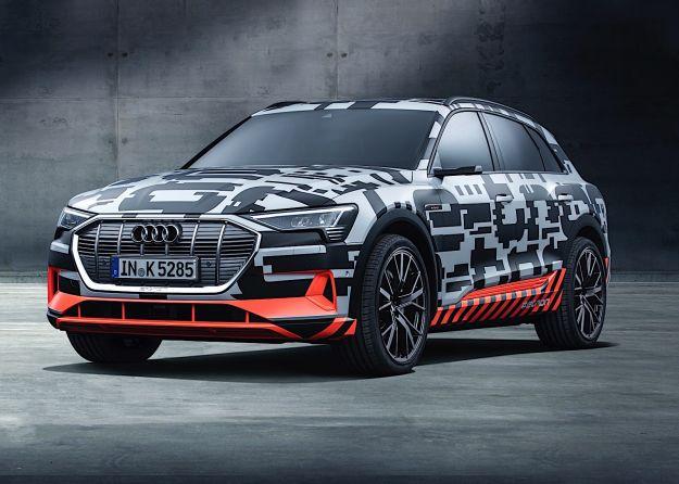 Audi e-tron Prototipo: a Ginevra il primo modello puramente elettrico