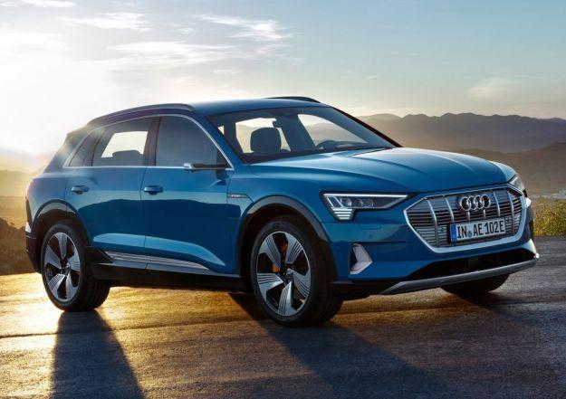 Audi e-tron 2019: il SUV elettrico con oltre 400 km di autonomia [FOTO]