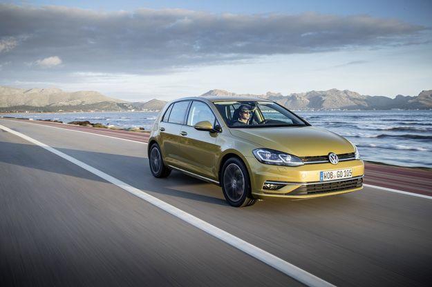 Auto a metano più economiche Volkswagen Golf TGI