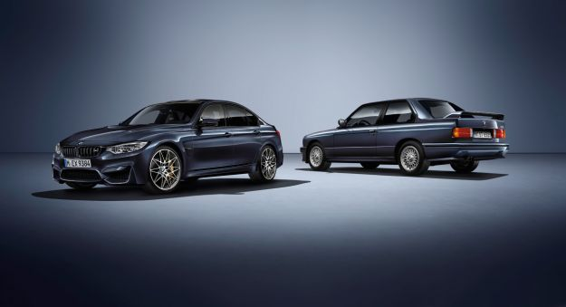BMW M3 30 Years Edition con il Competition Package e dettagli unici [FOTO]