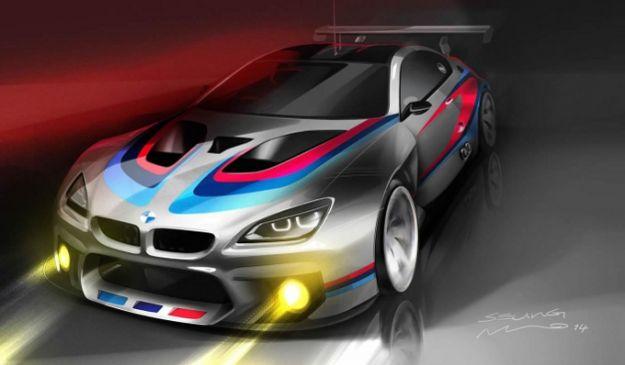 BMW M6 GT3 2016 anteriore