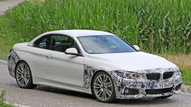 BMW Serie 4 Cabrio foto spia 1