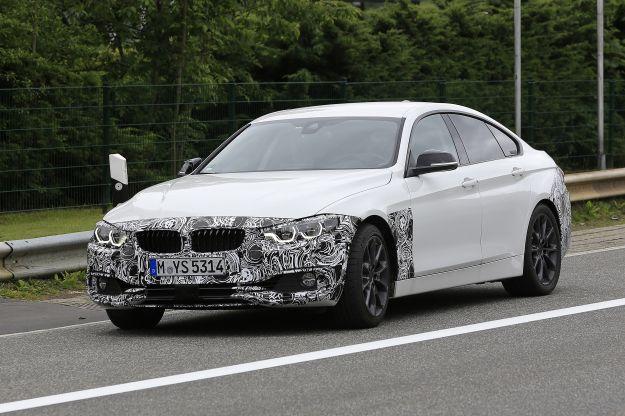 BMW Serie 4 Gran Coupè 2017, le foto spia del restyling