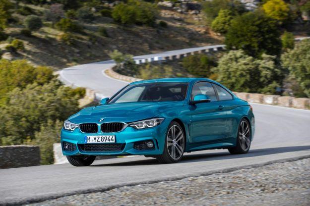 BMW Serie 4 restyling 2017: motori e caratteristiche. Nuovo infotainment e schermo virtuale [FOTO]