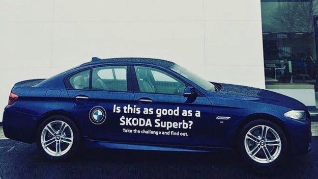 BMW Serie 5 vs Skoda Superb