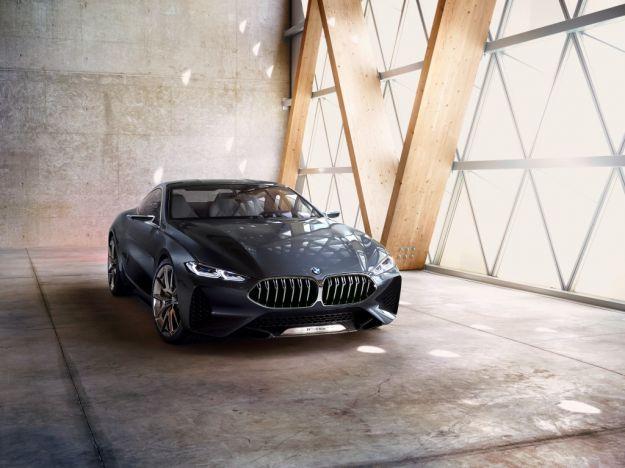 BMW Serie 8 Concept: a Villa d'Este anticipa la nuova Serie 8 coupé [FOTO]