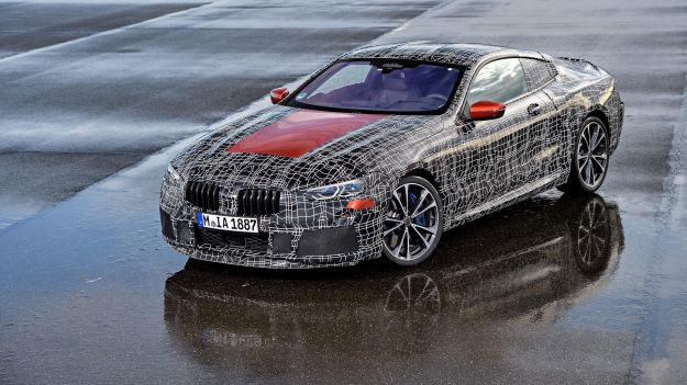 BMW Serie 8 Coupé dall'alto