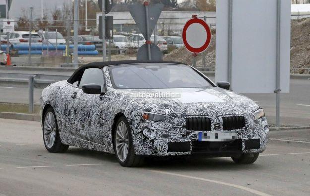BMW Serie 8 foto spia 04