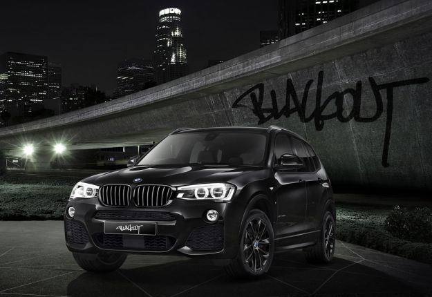 BMW X3 Blackout 1