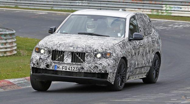 BMW X5 2018 foto spia 03