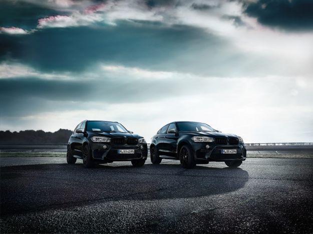 BMW X5 e X6 M Black Fire Edition 2017, prestazioni total black: uscita e scheda tecnica [FOTO]
