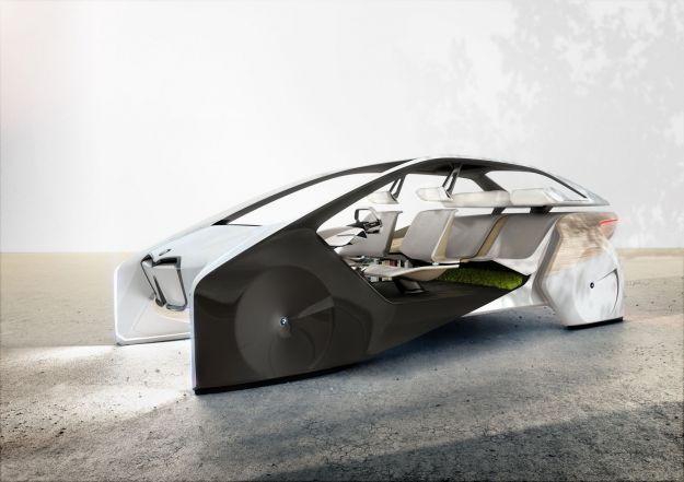 BMW i Inside Future Concept: l'auto del futuro al CES 2017 [FOTO]
