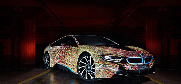 BMW i8 Futurism Edition di Garage Italia Customs: la nuova creatura di Lapo Elkann
