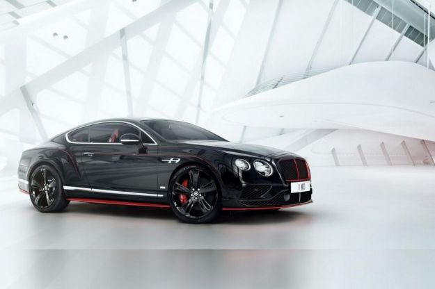 Bentley Continental GT Black Speed, con il motore W12 per 10 fortunati