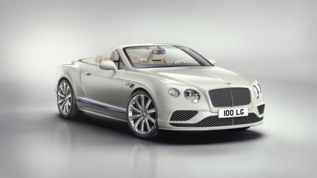 Bentley Continental GT Convertible Galene Edition, caratteristiche: ispirata dalla mitologia greca [FOTO]