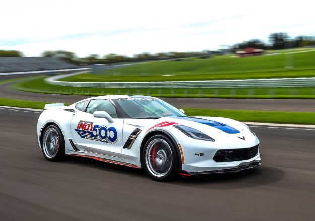 Chevrolet Corvette Grand Sport Indy 500, sarà la Pace Car a Indianapolis [FOTO]