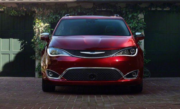 Chrysler Pacifica a guida autonoma