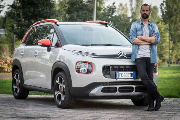 """Citroen C3 Aircross e Fabio Volo: il nuovo testimonial è """"unconventional"""""""