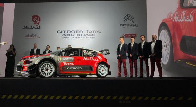 Citroen C3 WRC 2017 all'assalto del mondiale rally [FOTO]