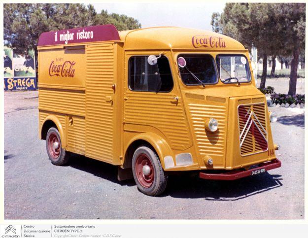 Citroen Tipo H: nel 1947 il primo veicolo commerciale modulare della storia