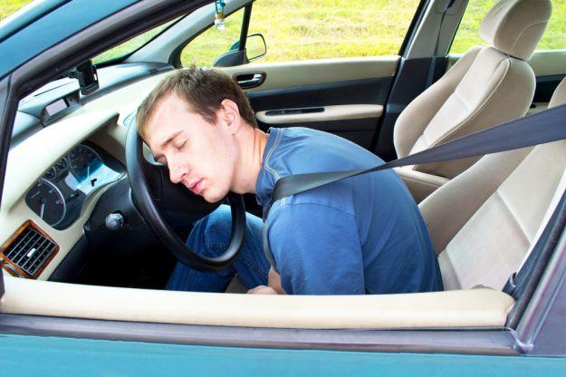Colpo di sonno in auto
