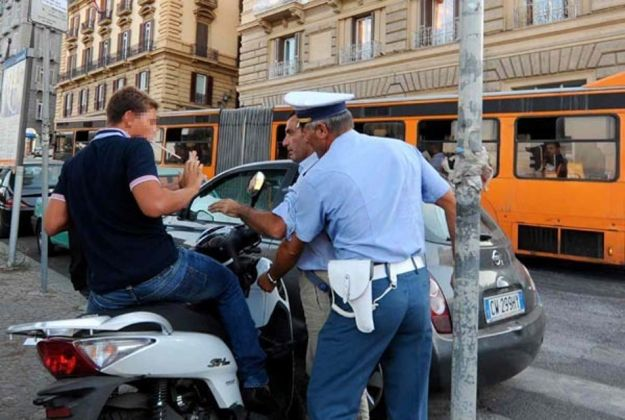 Confisca e sequestro del motorino