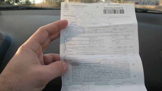 Contestare una multa