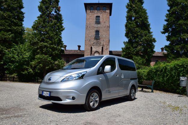 Nissan e-NV200 Evalia: prezzo, autonomia, scheda tecnica e prova su strada [FOTO]