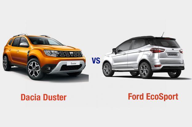 Dacia Duster vs Ford EcoSport cover