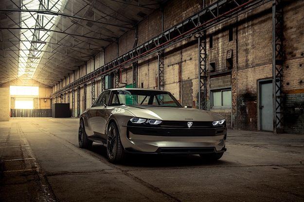 Peugeot e-Legend Concept: l'elettrico secondo la Casa del Leone