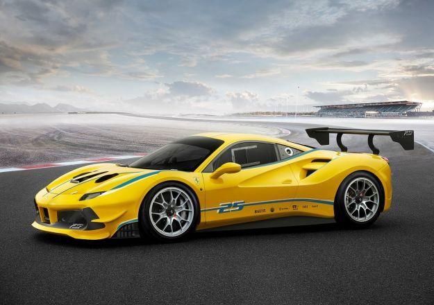 Ferrari 488 Challenge, caratteristiche e scheda tecnica [FOTO]