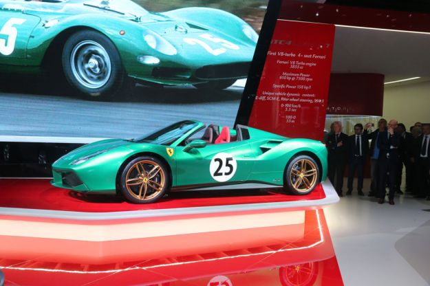 Ferrari 70 anni Salone di Parigi 2016 01
