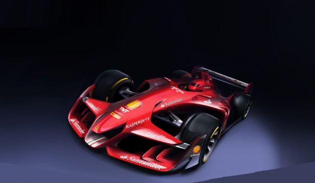 Ferrari F1 Concept: da Maranello la Formula 1 del futuro [FOTO]