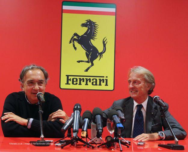 Ferrari Montezemolo Marchionne