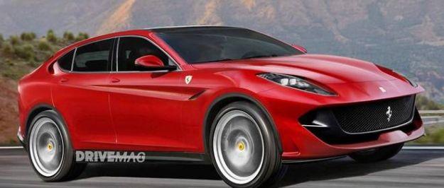 Ferrari Purosangue SUV render