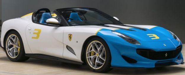 """Ferrari SP3JC: dalla costola della F12TDF nasce una one-off """"colorata"""""""