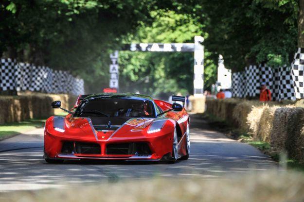 Festival Of Speed Goodwood Ferrari