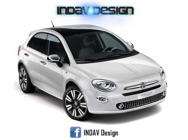 Fiat 500+ rendering