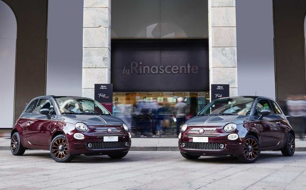 Nuova Fiat 500 Collezione: nuovi colori e materiali ispirati all'autunno