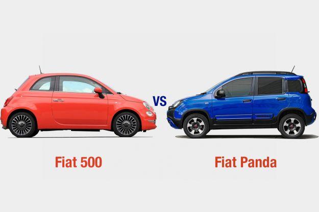 Fiat 500 Vs Fiat Panda: interni, dotazioni, motori e prezzo a confronto