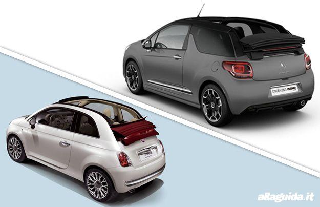 Fiat 500C vs DS3 Cabrio