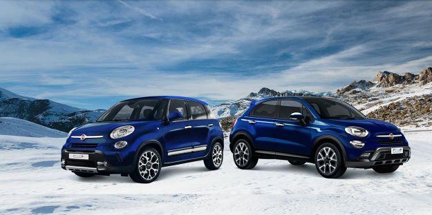 Fiat 500X e 500L Winter Edition