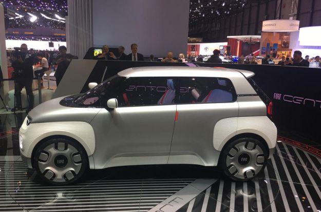 Fiat Centoventi: al Salone di Ginevra 2019 un concept al sapor di Panda
