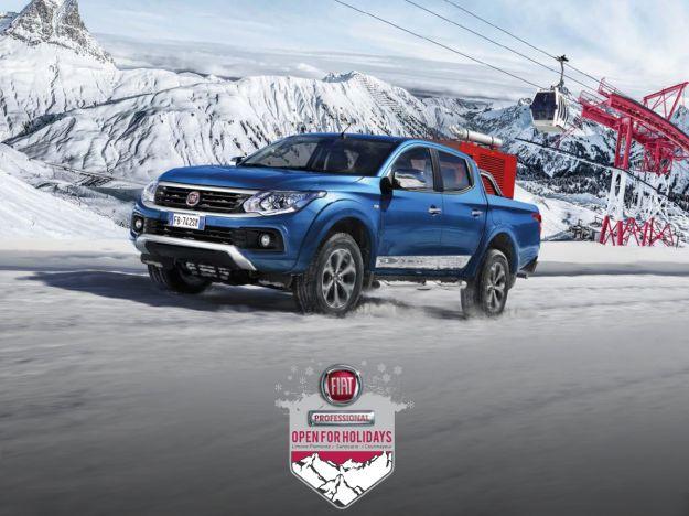 Fiat Fullback 2017 neve fuoristrada prestazioni prezzo