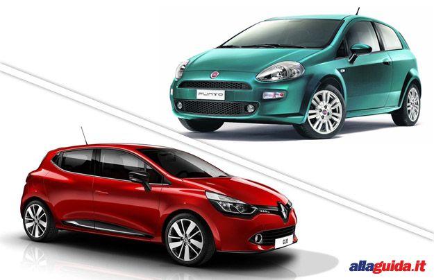 Fiat Punto vs Renault Clio 2013