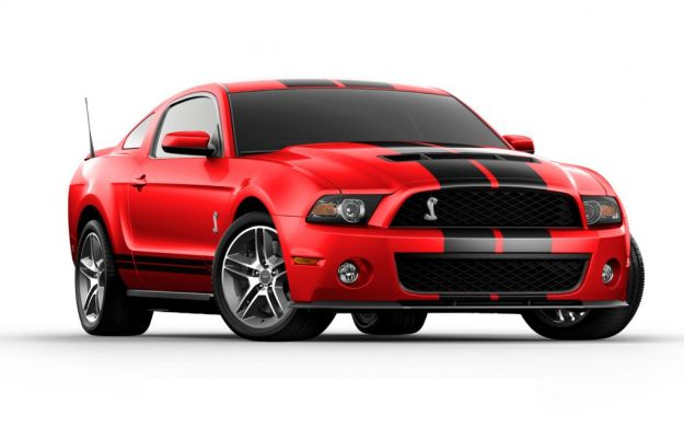 Ford Mustang Shelby 2013 frontale