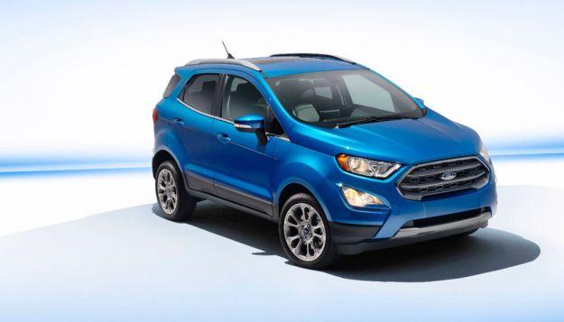 Ford Ecosport 2017: la versione americana sbarca al Salone di Los Angeles [FOTO]